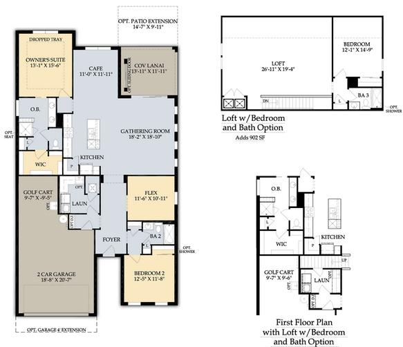 Tidewater Estero Real Estate Summerwood Floor Plan