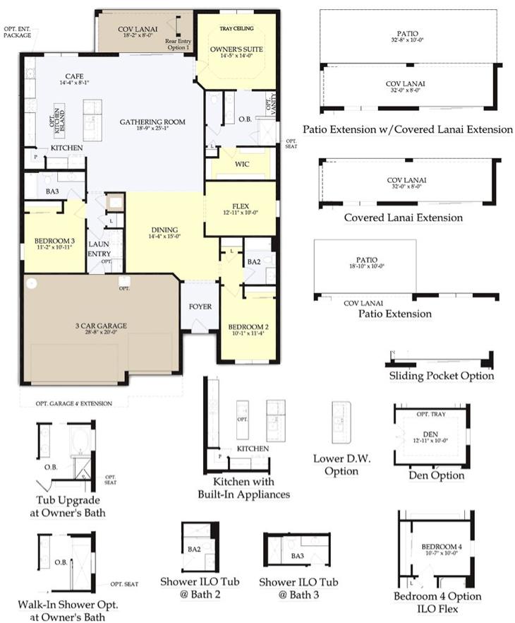 Infinity Design in Winding Cypress floor plan