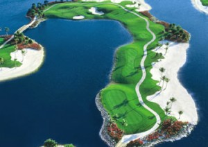 Great golf is near Winding Cypress Naples Florida
