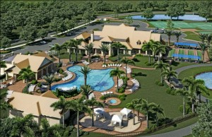 Winding Cypress Naples Site Plan Amenity Center