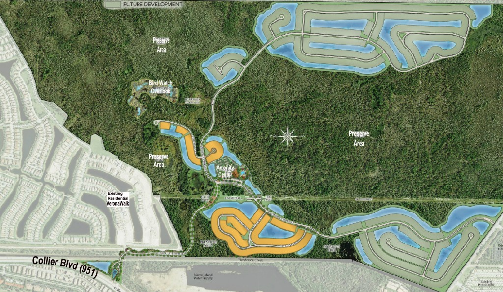 Winding Cypress Site Plan