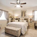 Beautiful master bedroom in a 3 bed 2 bath condo in Blue Heron