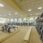The Wold Class fitness facilty located inside the 54,000 square foot clubhouse facility at Fiddlers Creek